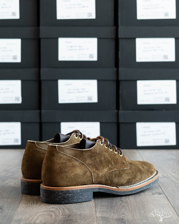 145 Oxford - Mushroom Chamois Roughout - 1035