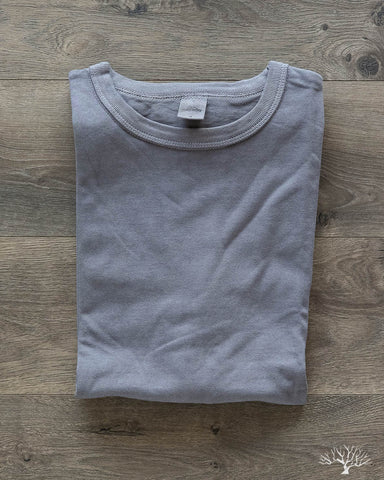 3sixteen x alpha industries heavyweight tee in natural iron dye
