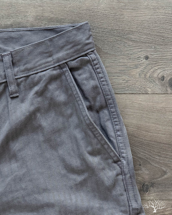3sixteen alpha industries herringbone twill chino natural iron dye