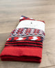 American Trench Rio Grande Serape Socks Red