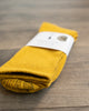 American Trench Silver Crew Socks Gold