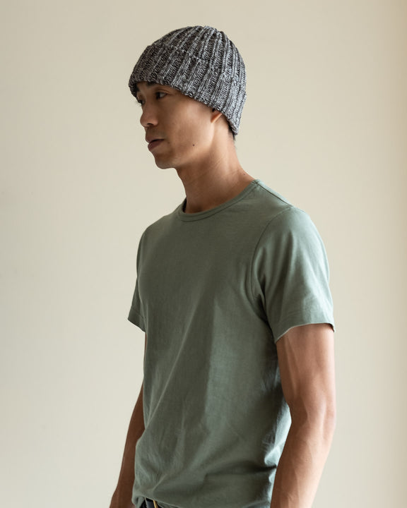 Pre-organic Cotton Watch Cap - Gray Mix