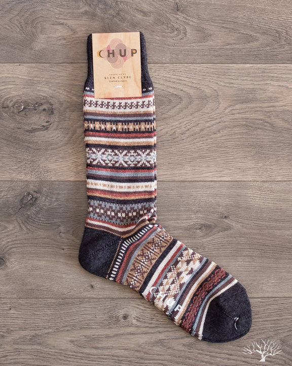 Chup Socks - Tabiat - Charcoal