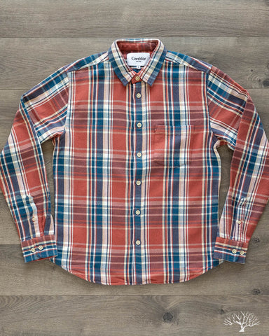 Blanket Plaid Winter Red Long-Sleeve Shirt