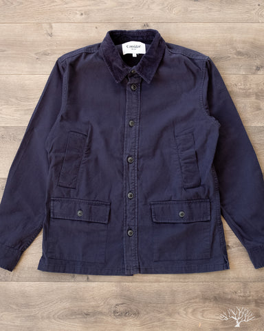 Corridor City Barn Coat Navy