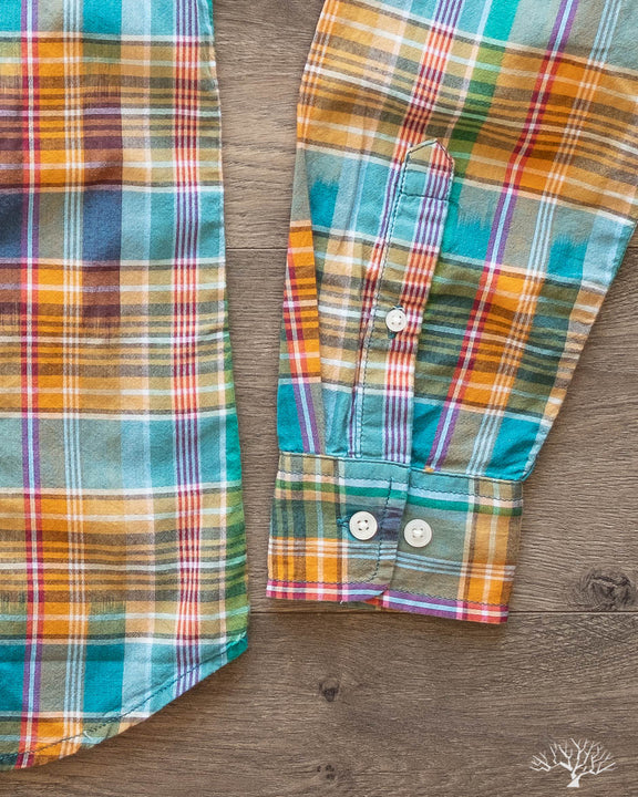 Summer Retro Madras Shirt