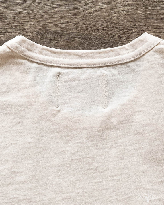 Heavy Duty Pocket Tee - Natural