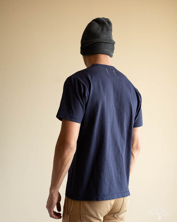 Heavy Duty Pocket Tee - Navy