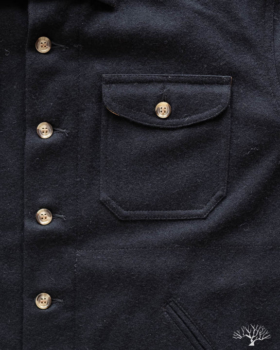 Crissman Overshirt - Black