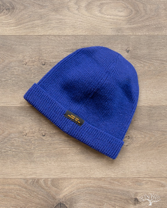 Wool Knit Watch Cap - Royal