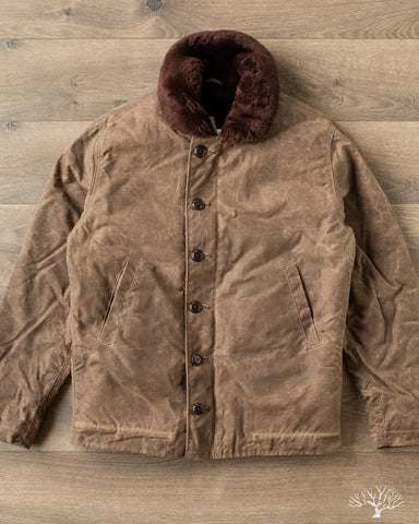 Dehen N-1 Deck Jacket Dark Tan