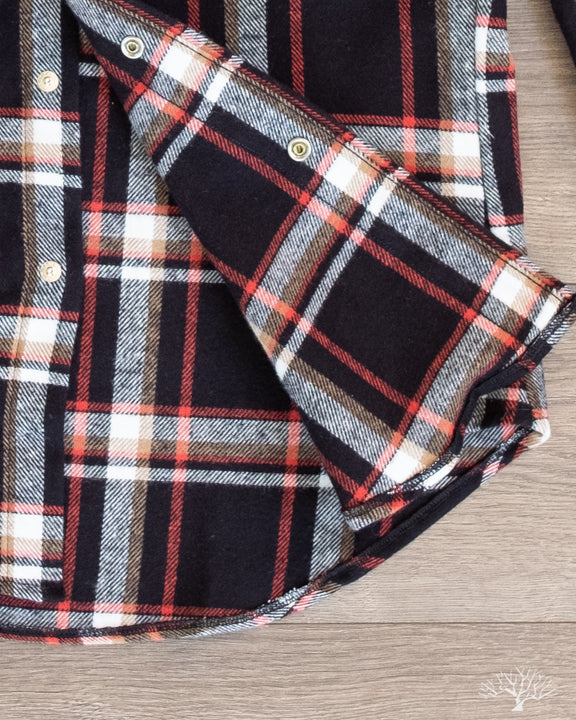 Gitman Vintage Red Country Plaid Western Shirt