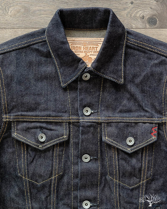 IH-526PJ - Indigo 21oz Type III Modified Denim Jacket