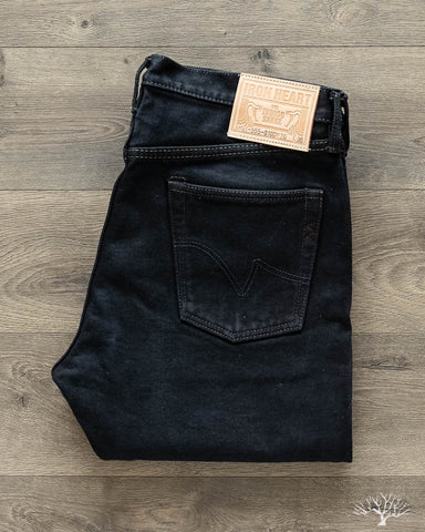 IH-555S-21od - Overdyed Indigo 21oz Japanese Selvedge Super Slim Denim