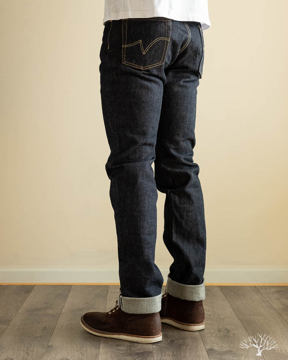 IH-888S - Indigo 21oz Japanese Selvedge High Rise Tapered Denim