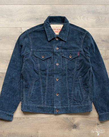 IHJ-82 - 14w Corduroy Modified Type III Jacket - Indigo