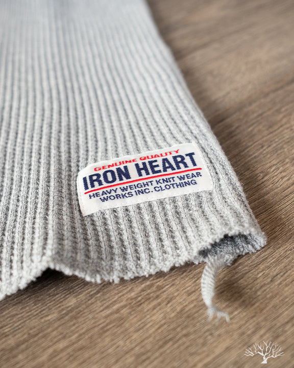 Iron Heart Waffle Knit Crew Thermal Long Sleeve