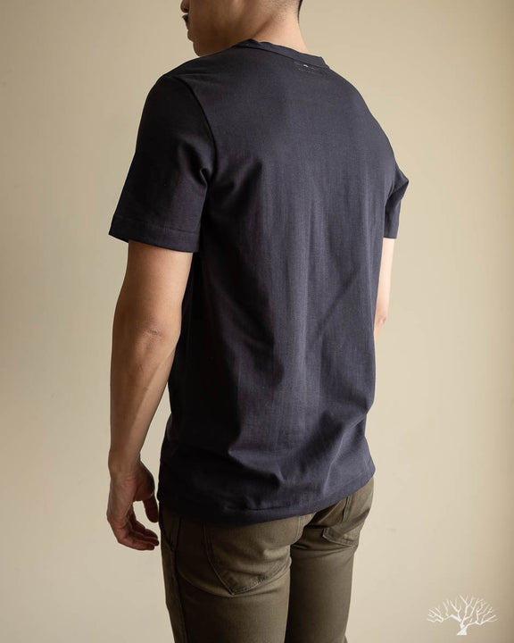 214 2-Thread Relaxed Crew Neck Tee - Charcoal