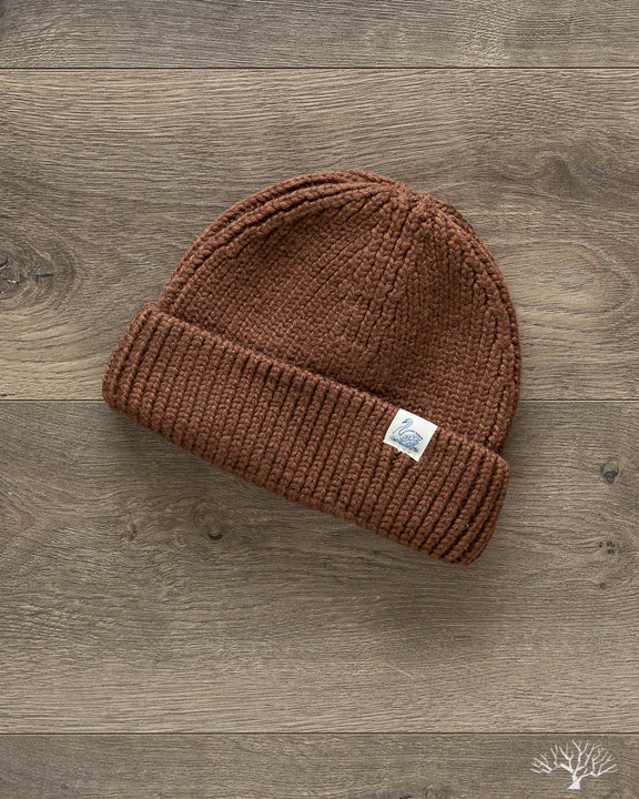 Good Basics Merino Wool Beanie - Nut