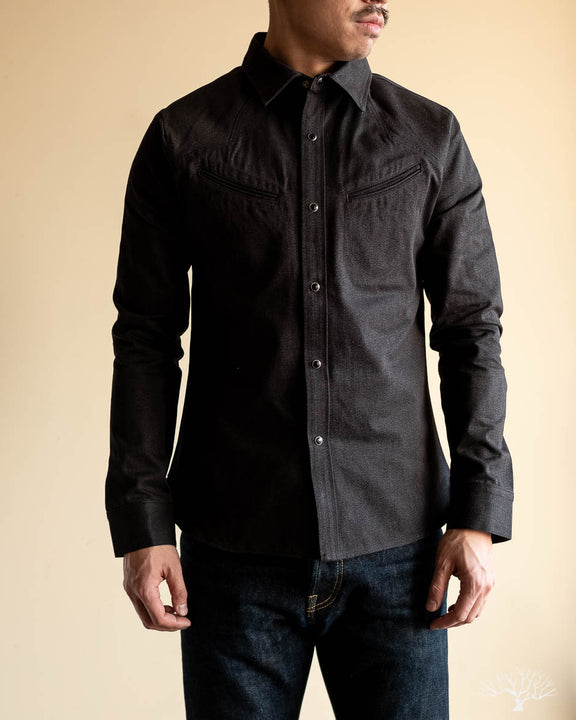 Replicant Western Shirt - Twisted Heather