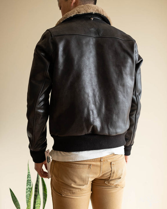 Schott for 3sixteen - Chromexcel Horsehide A-2 Flight jacket