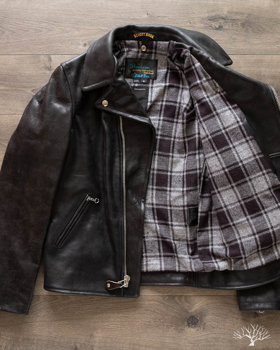 Schott for 3sixteen - Chromexcel Horsehide Perfecto Jacket