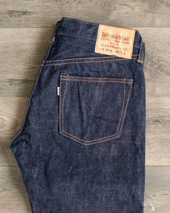 UES Denim 400S Slim Straight Selvedge Jeans