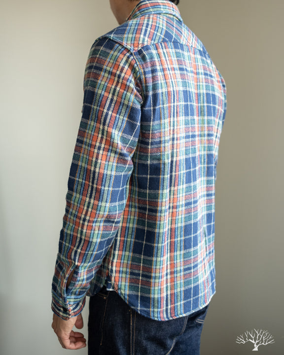 UES Heavy Flannel - Navy