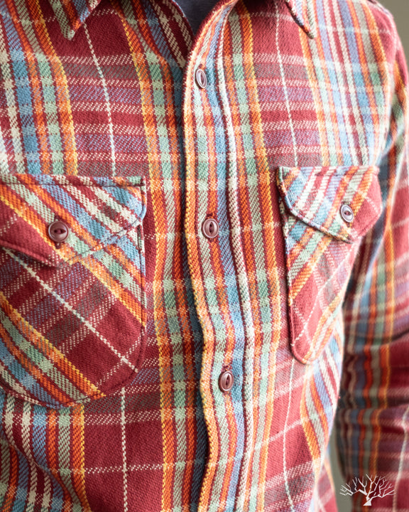 UES Heavy Flannel - Red