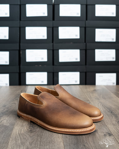 Slipper - Camel Oiled Calf - 2010