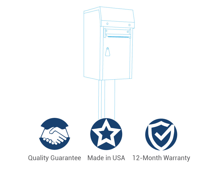 American Security Payment Drop Box Options Safe Deposit Warranty