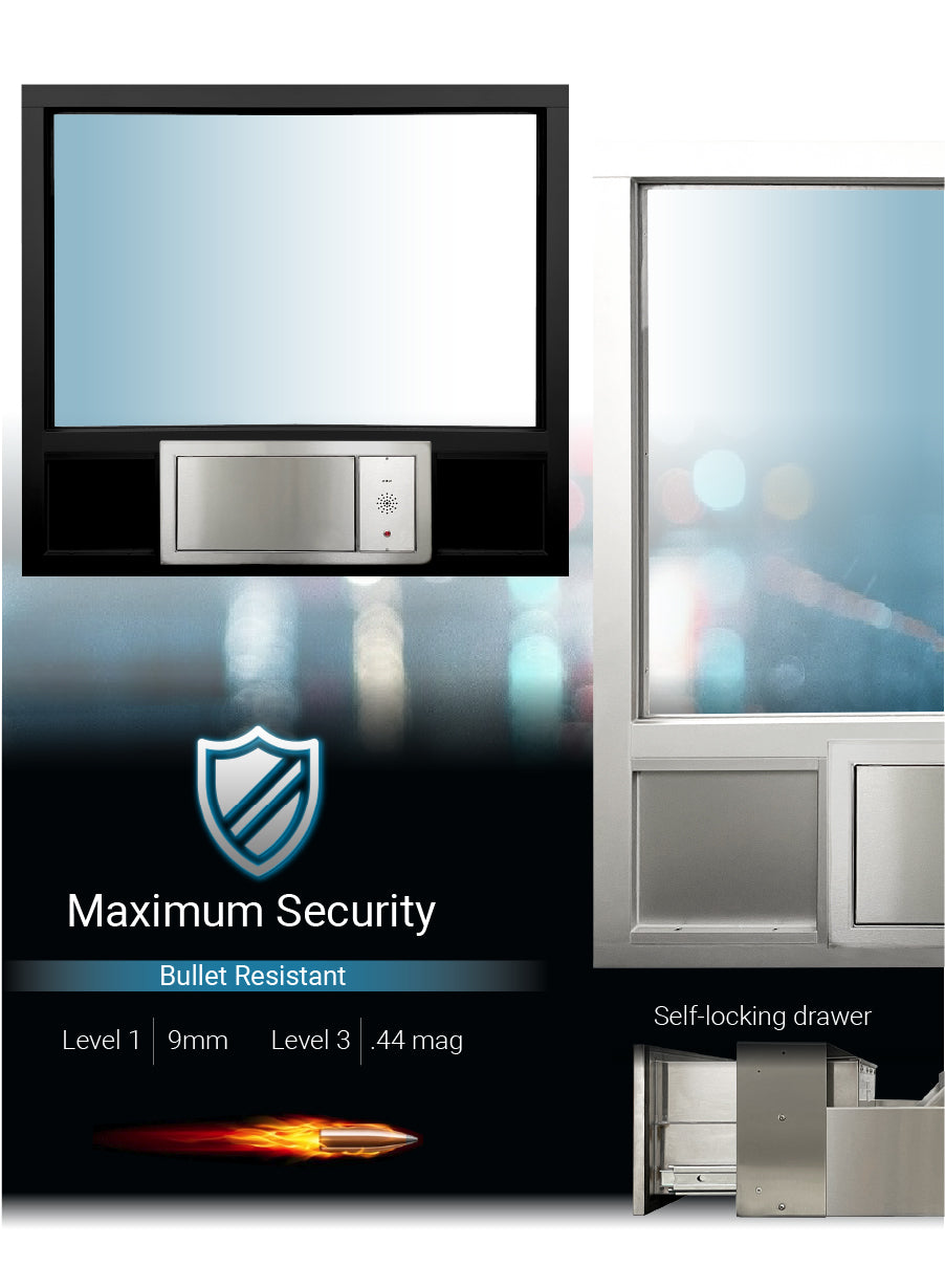 Complete transaction transfer station covenant security equipment 1019s Quikserv