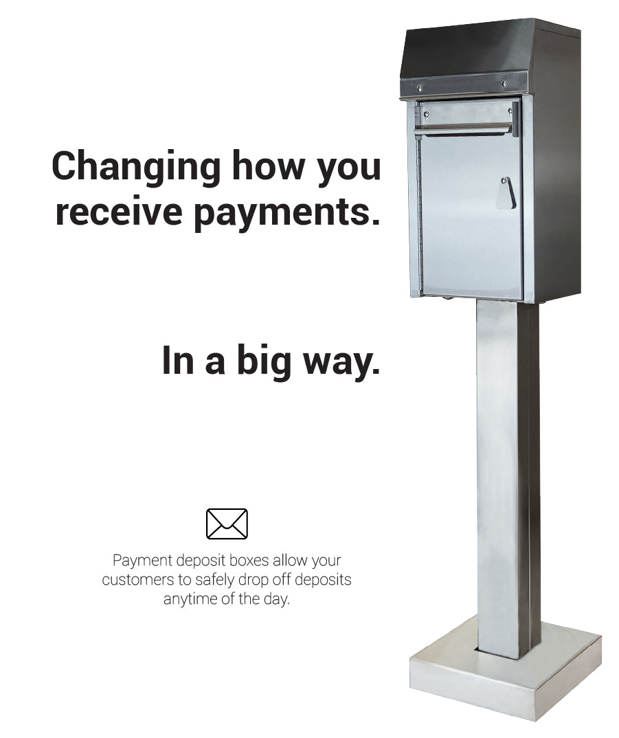 American security payment drop box receive payments even when closed