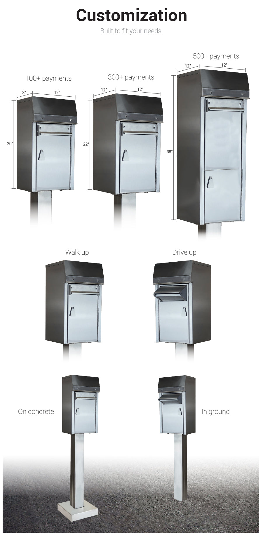 American Security Payment Drop Box Covenant Security Equipment