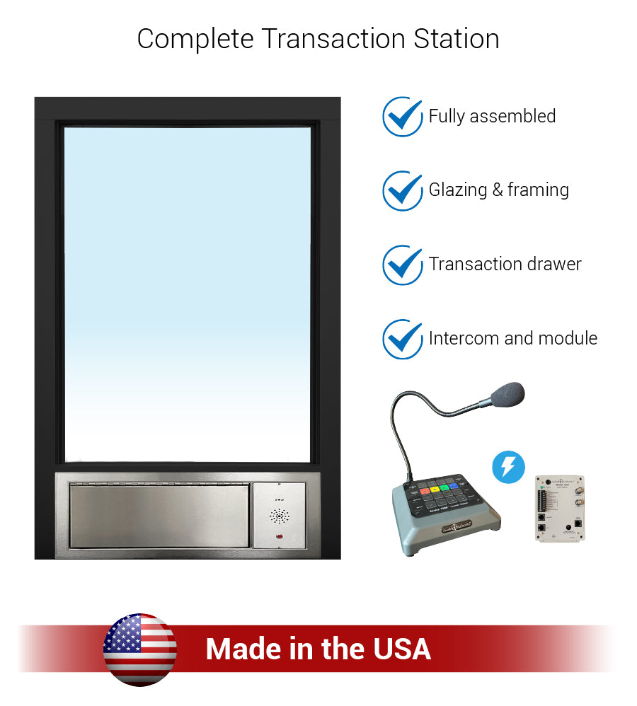 Transaction station security quikserv covenant security equipment