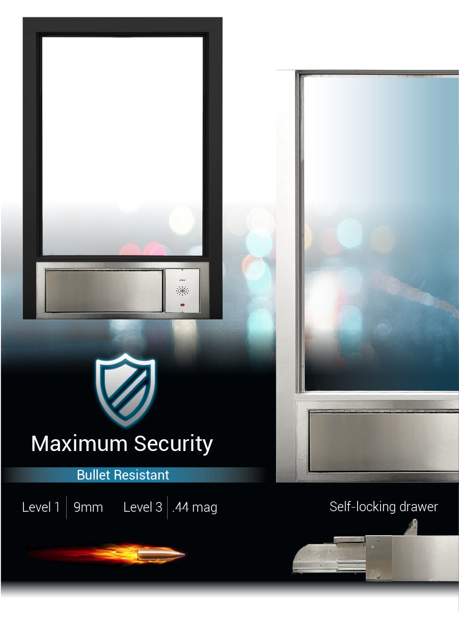 complete transaction station security quikserv covenant security equipment