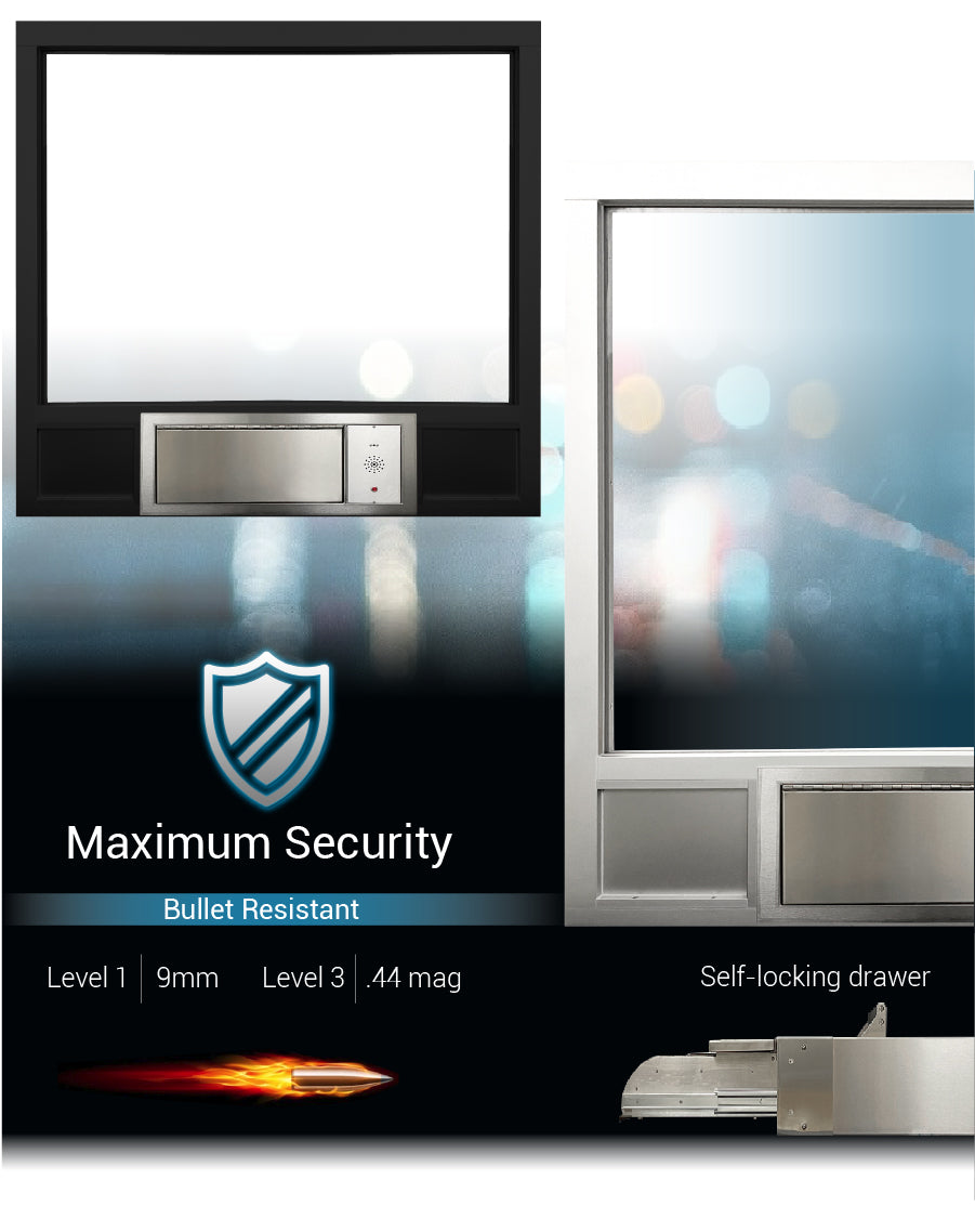 Complete transaction station quikserv covenant security equipment