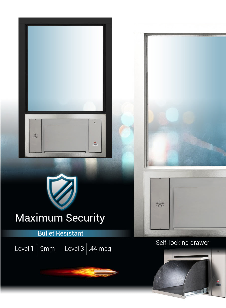 Large transaction station security quikser covenant security equipment