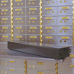 Safe Deposit Box with Bond Box Shelf