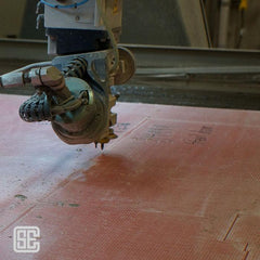 Bullet Resistant Panel WaterJet Cutting