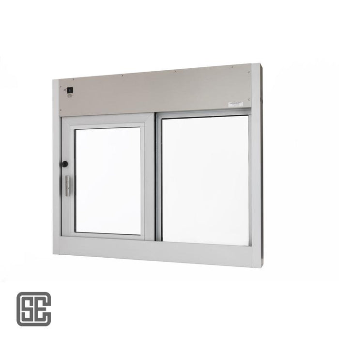 CSE-QS-SS-4035E-IP | 48W x 41H Hurricane Fully-Auto Drive-Thru Slider Window