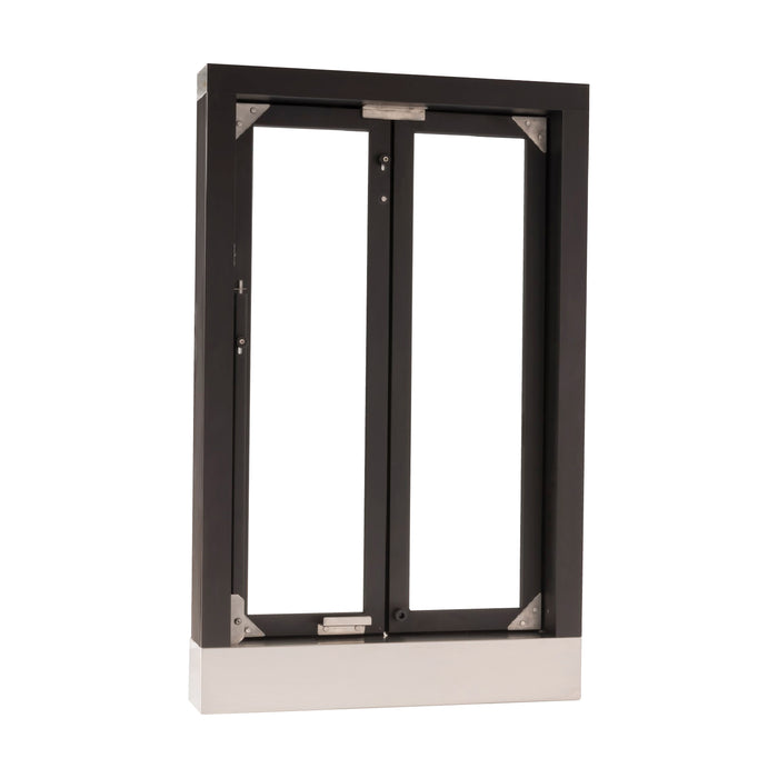 CM-1 Bi-Fold transaction window bronze