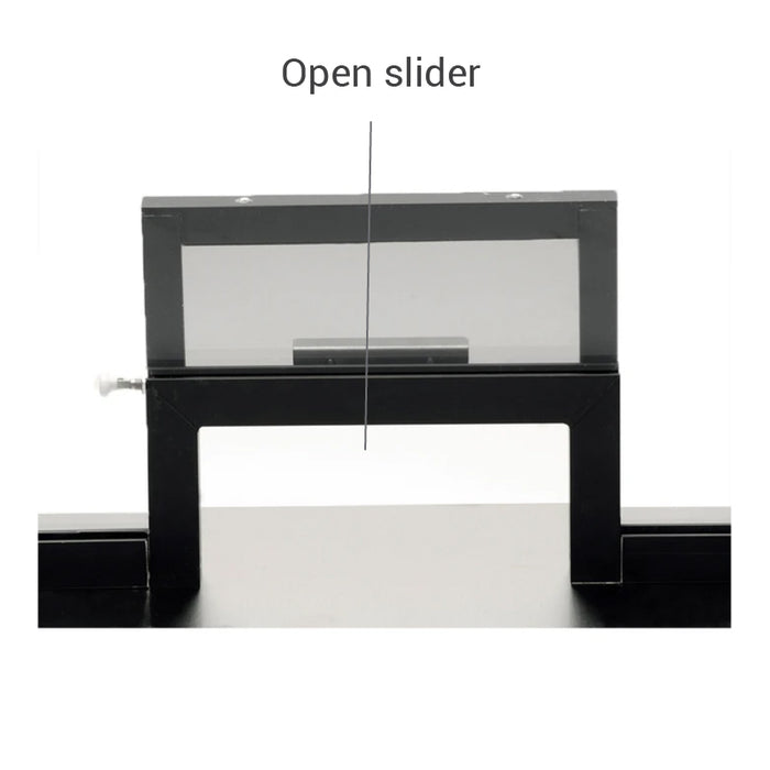 CSE-QS-TW2 | T2 Style Ticket Window with Slide Up | Various Sizes and Bullet Resistant Options
