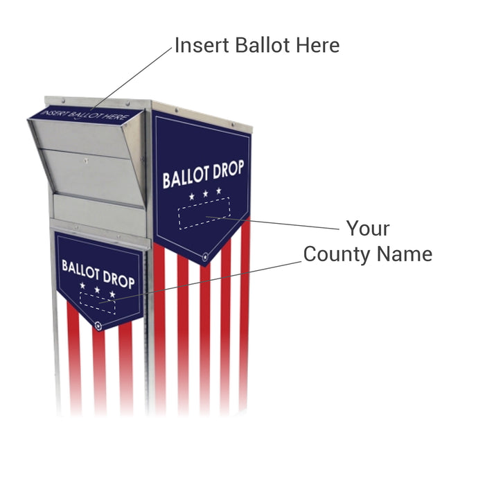 CSE-AS-BD-710 Ballot Drop Box
