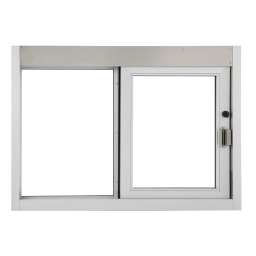 CSE-QS-SC | Self Closing Drive-Thru Slider Window | Multiple Sizes and Glass Options