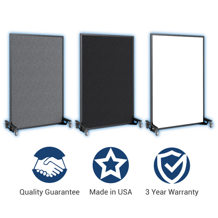 Screenflex bullet resistant partition warranty