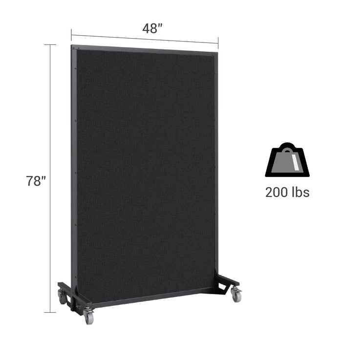 Screenflex bullet resistant partition dimensions and weight