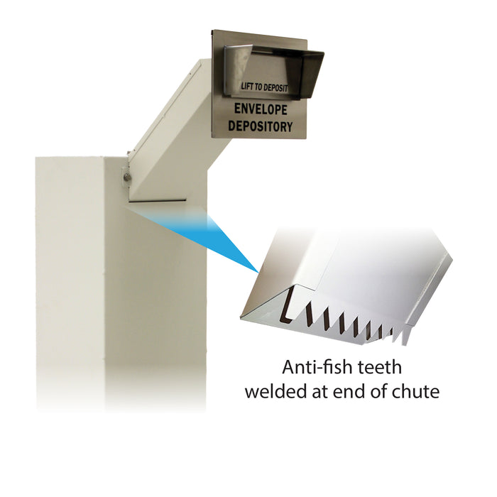 CSE-AS-EDU | In-Wall Envelope Depository Unit