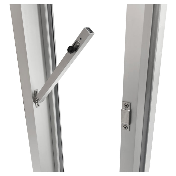 Ready Access Bi-parting drive thru window Covenant Security Equipment