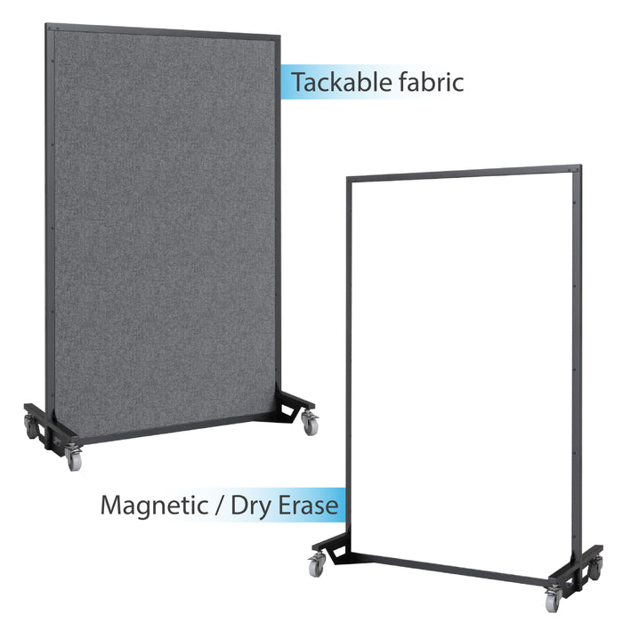 Screenflex bullet resistant partition tackable fabric, magnetic dry erase